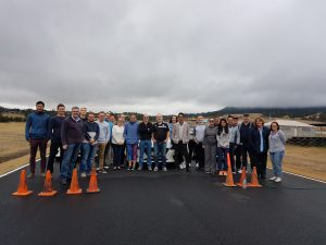 PDA training at Baskerville Raceway TAS