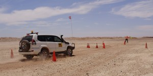 Performance Driving Australia driver training Minesite