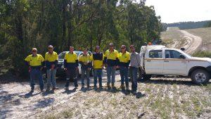 Nacap crew 4WD training with PDA