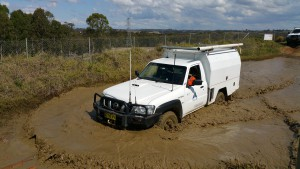 4WD Training at Eastern Creek just west of Sydney